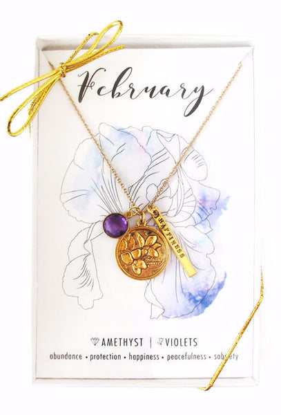 February Celebration Necklace