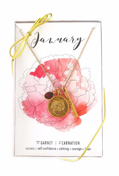 January Celebration Necklace