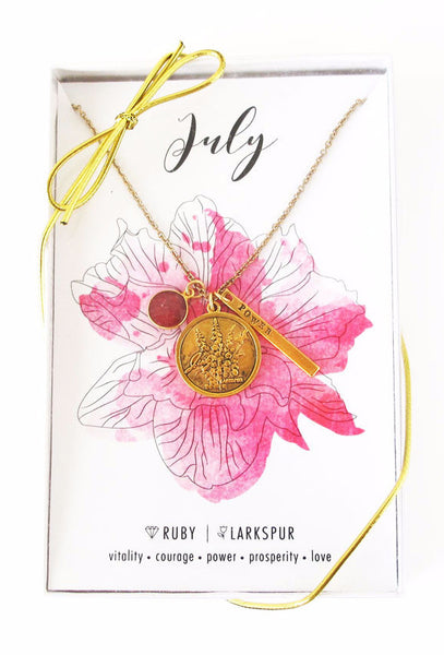 July Celebration Necklace