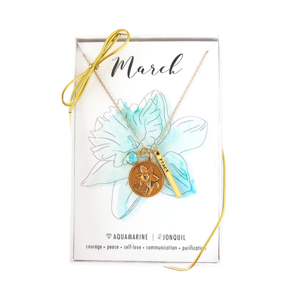 March Celebration Necklace