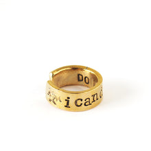 Load image into Gallery viewer, 'I Can Do This Silver' Ring