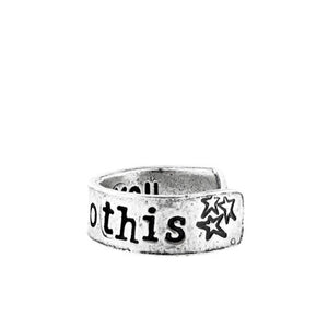 'I Can Do This Silver' Ring