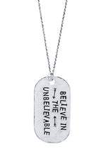 Load image into Gallery viewer, inspirational dog tag