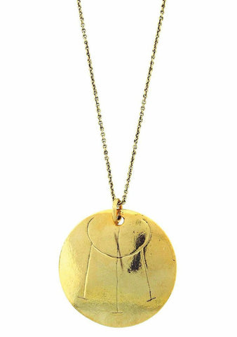 """To Attract Money And Prosperity"" Rune Necklace"