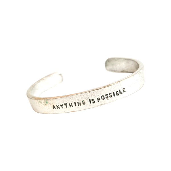 Anything Is Possible Cuff Bracelet