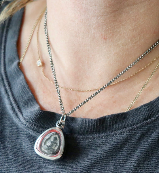 Mantra One of a Kind buddha Necklace