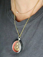 Load image into Gallery viewer, Ananda One Of a Kind Buddha Necklace