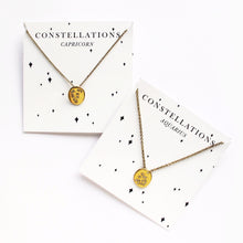 Load image into Gallery viewer, Aquarius Constellation Necklace