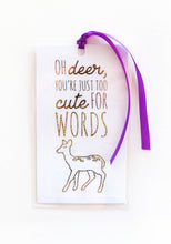 Load image into Gallery viewer, Deer Resin Necklace + Bookmark