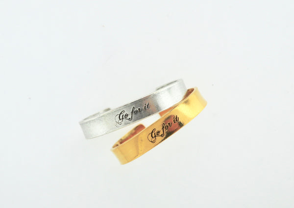 Go For It Cuff Bracelet