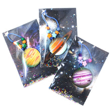 Load image into Gallery viewer, Planet Jupiter (Purple) Little Lessons Necklace