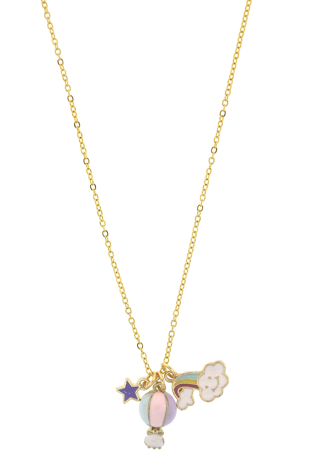 Hot Air Balloon Fun in the Sun Necklace