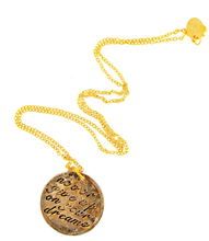 Load image into Gallery viewer, Never Give Up on Your Dreams/ Do it For You Necklace