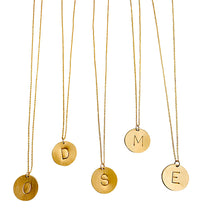 Load image into Gallery viewer, Gold Filled Initial Necklaces