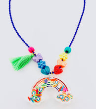 Load image into Gallery viewer, rainbow shaker necklace
