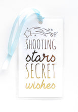 Load image into Gallery viewer, Shooting Star Resin Necklace + Bookmark