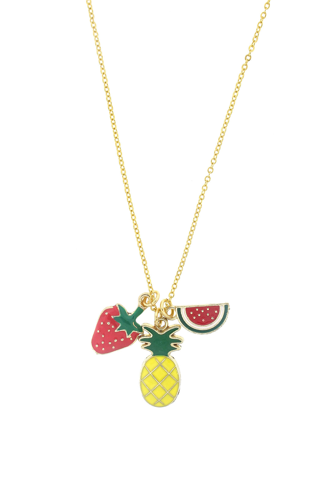 Yummy Fruits Fun in the Sun Necklace