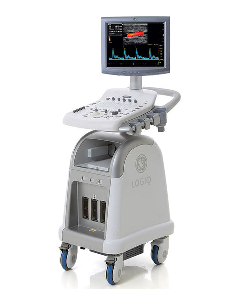 GE LOGIQ P3 with 2 probes - KPI Ultrasound