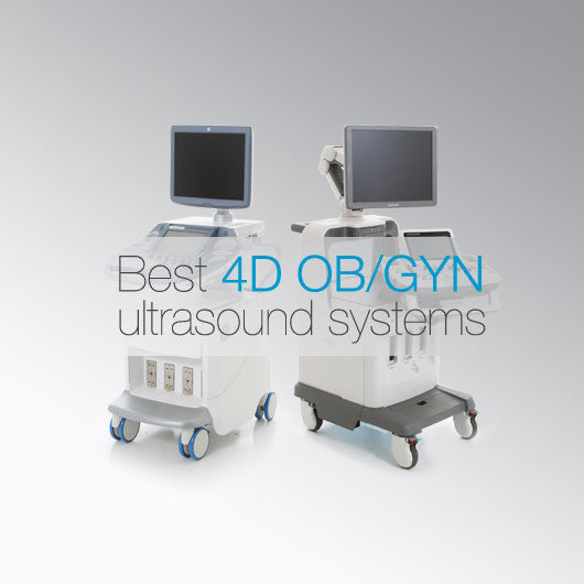 Best 4D OB/GYN ultrasound systems