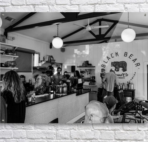 Black and White: Black Bear Bread Co.