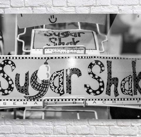 Black and White: Sugar Shack