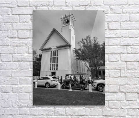 Black and White: The Church in Seaside