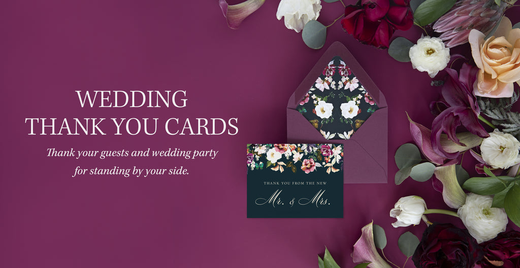Newlywed Thank You Cards