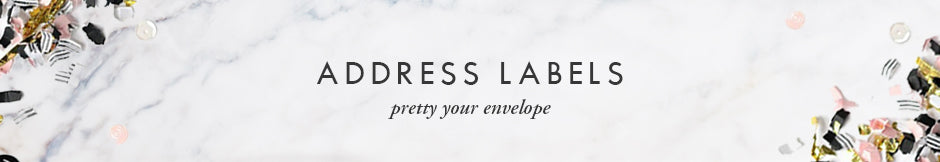 Digibuddha Address Labels - pretty your envelope