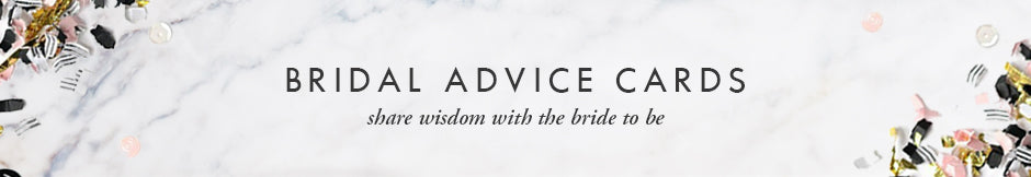 Digibuddha Bridal Advice Cards - share wisdom with the bride to be