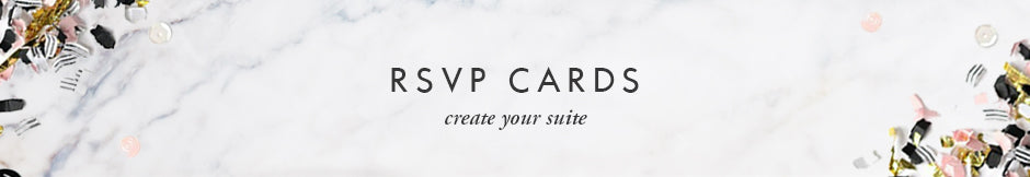 Digibuddha RSVP cards - create your wedding invitations suite