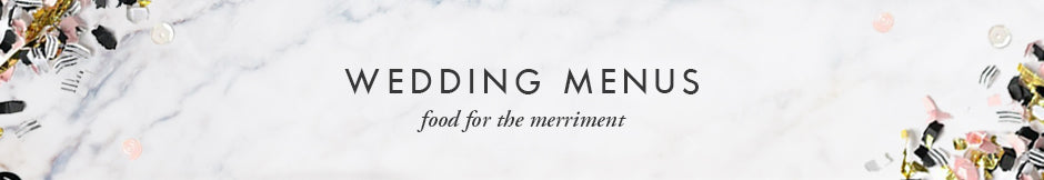 Digibuddha Wedding Menus - food for the merriment