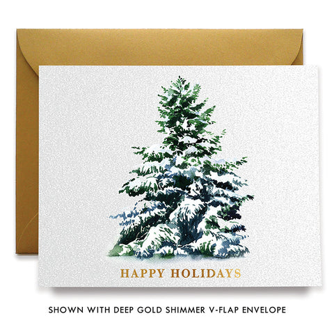 Christmas Tree Boxed Holiday Cards | Andas