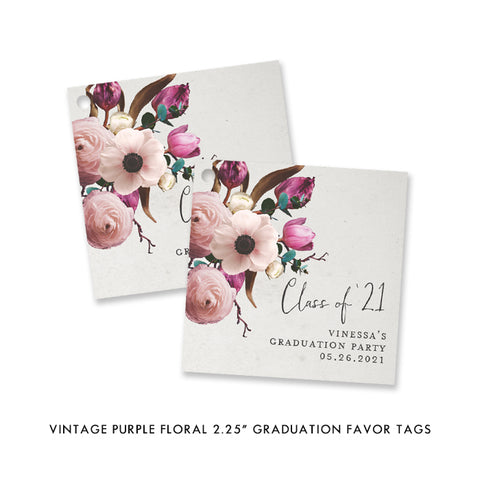Vintage Party Favor Tags
