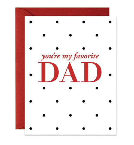 You're My Favorite Dad | Red