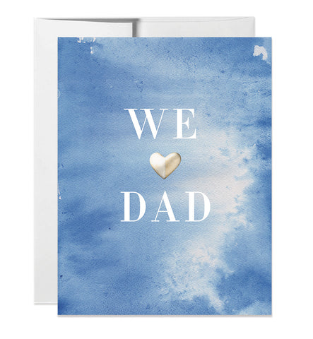 We Heart Dad Card
