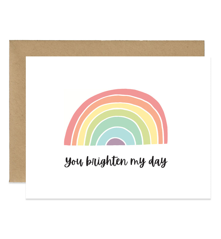 Rainbow Greeting Card with Envelope