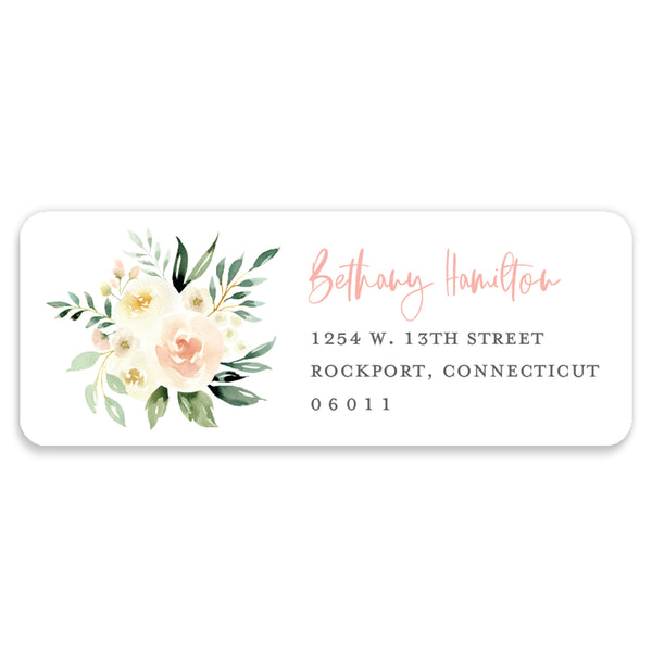 Floral + Greenery Address Labels | Coll. 2