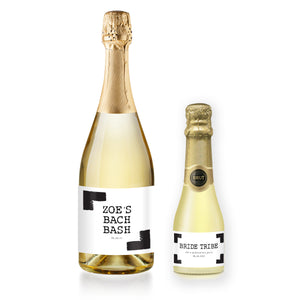 Mini Champagne Labels Bachelorette