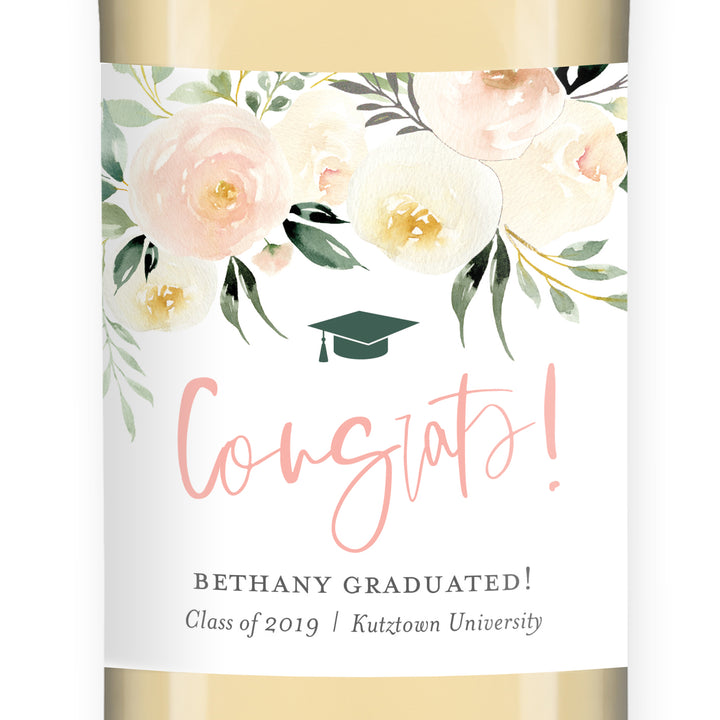 Graduation Wine Label