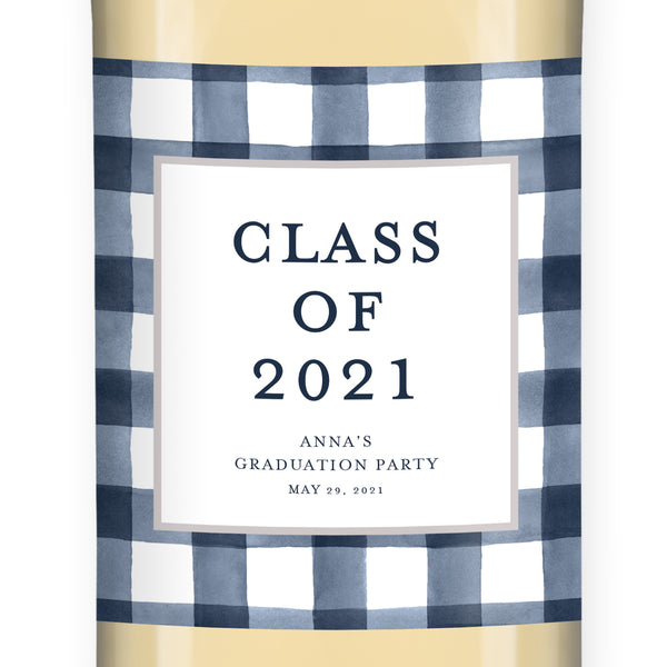 Graduation Party Wine Labels