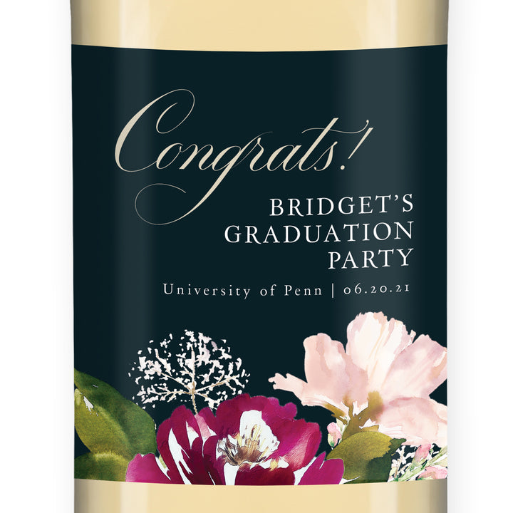 Congrats! Wine Label