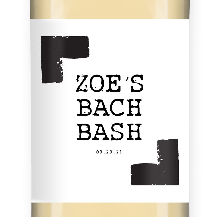 Bachelorette Party Wine Labels