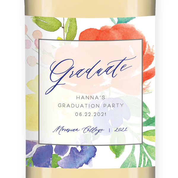 Graduate Wine Label