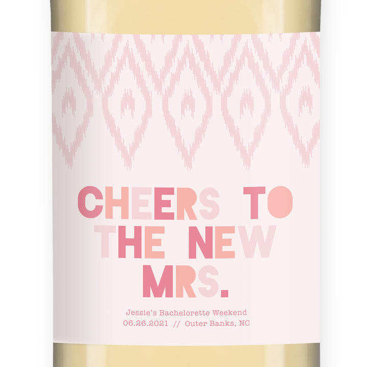 Bachelorette Weekend Wine Labels