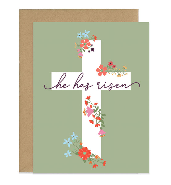 He Has Risen Easter Card