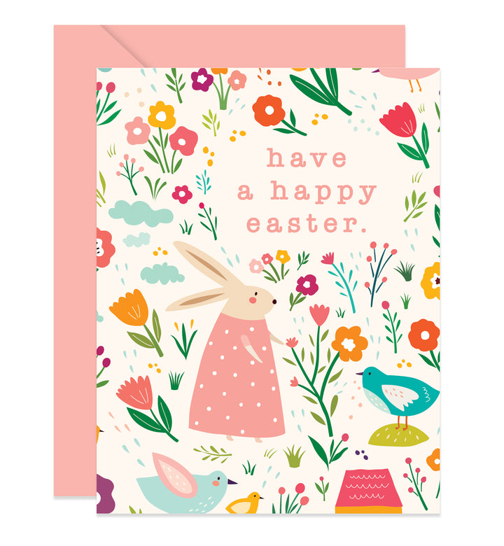 Modern Easter Greeting Card