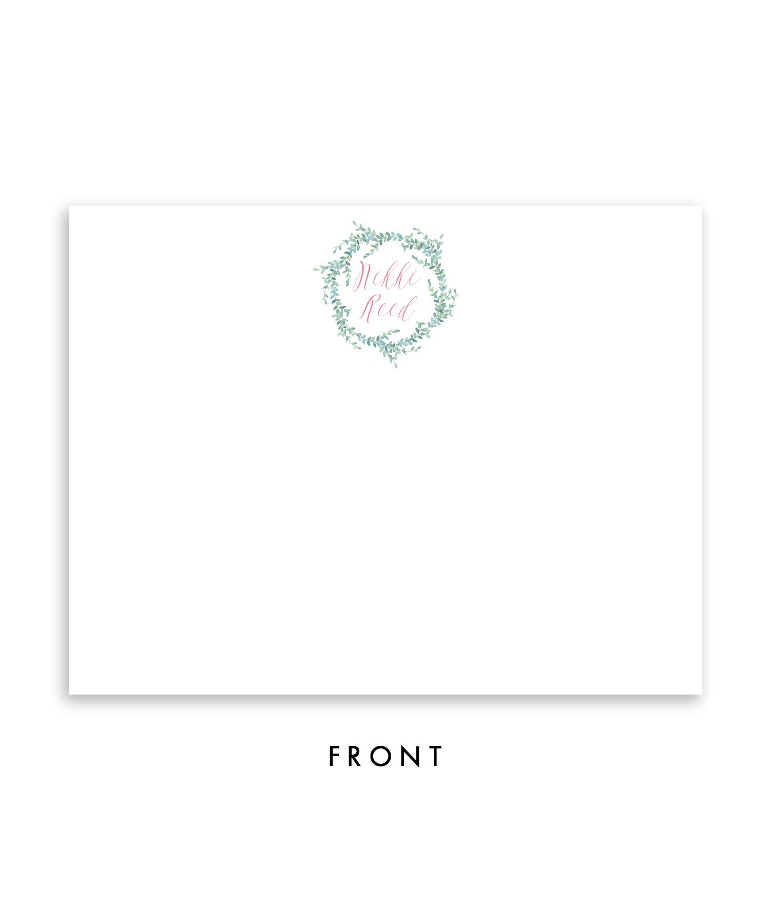 Whimsical Rustic Vines Personalized Stationery