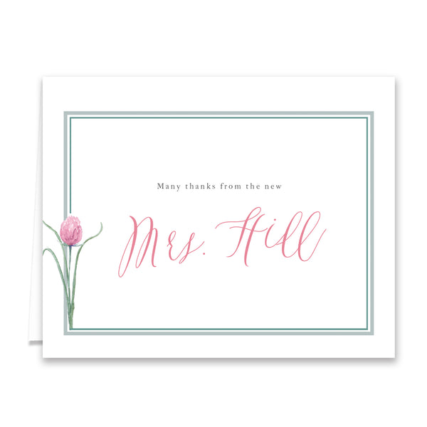 Bridal Thank You Card
