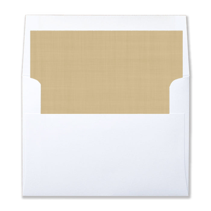 Coordinating Holiday Envelope Liners