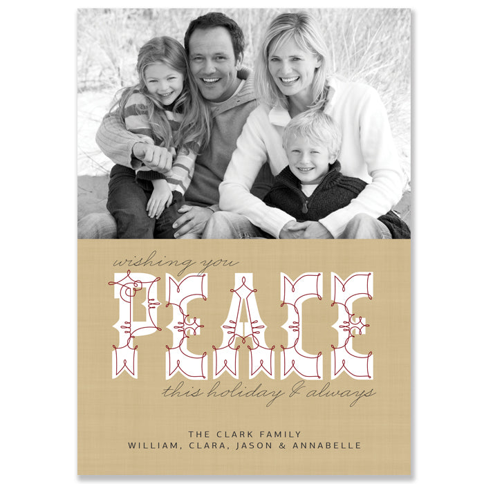 Family Holiday Photo Cards